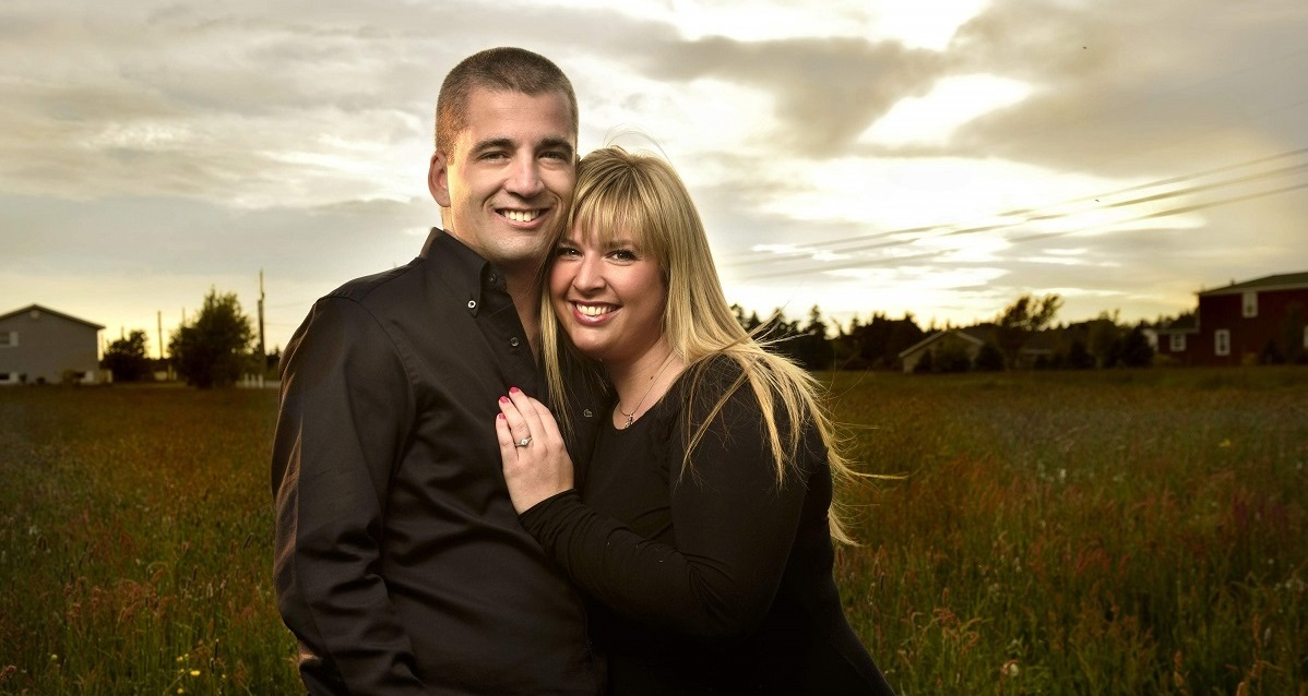 Shauna and Chris, a happy couple from Diamon Design