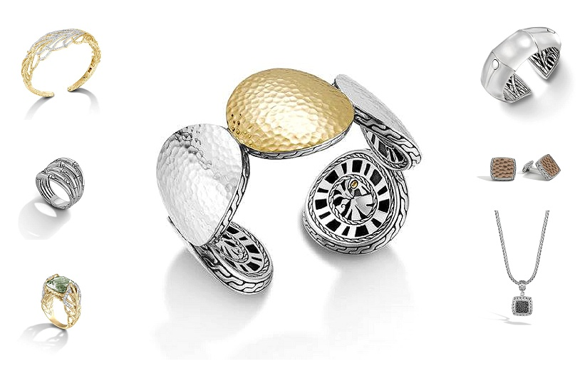 John Hardy jewellery available exclusively in Newfoundland through Diamond Design