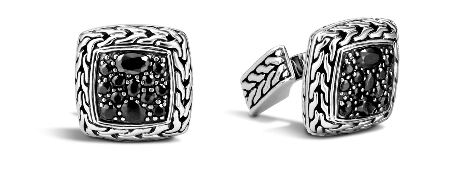 John Hardy cufflinks available at Diamond Design