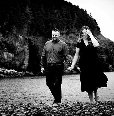 Diamond Design couple on NL beach
