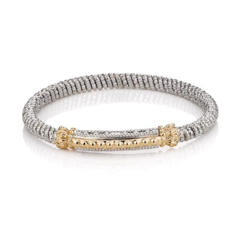VAHAN 14k Gold & Sterling Silver - 8mm