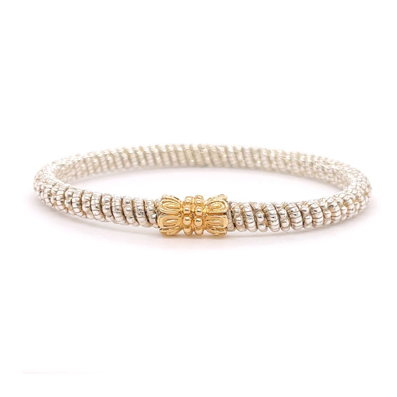 VAHAN 14k Gold & Sterling Silver - 4mm