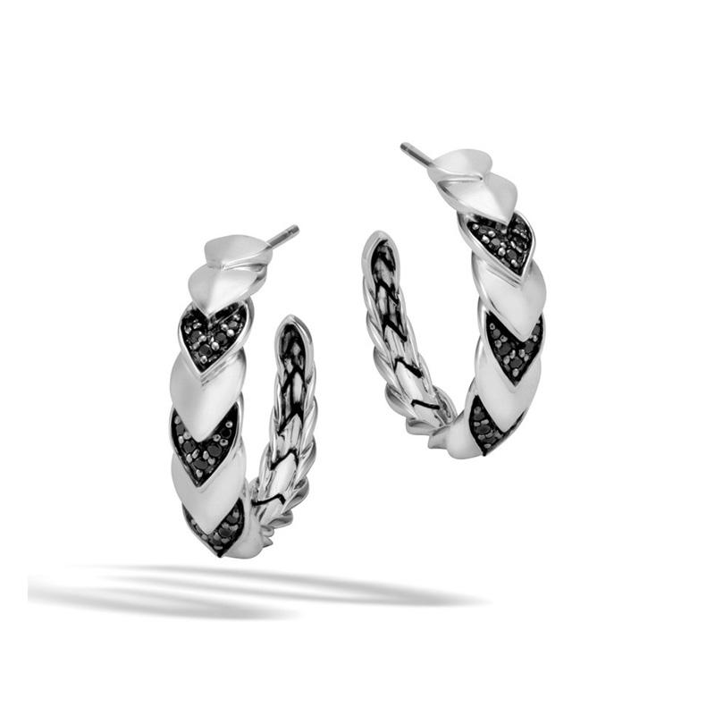 Naga Small Hoop Earrings