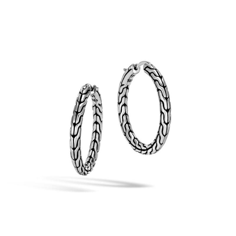 Classic Chain Medium Hoop Earring