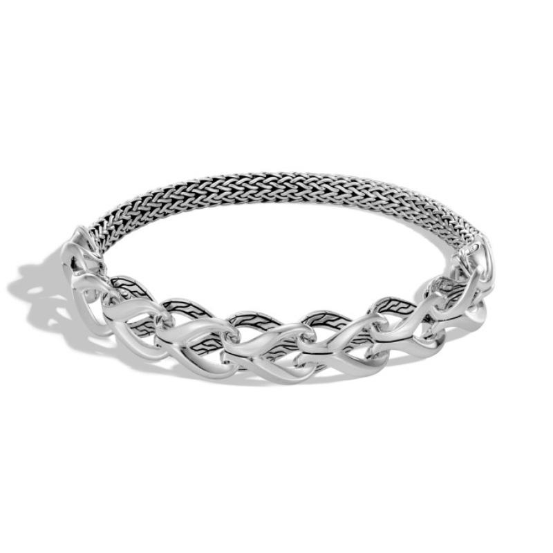 Classic Chain Half Link Bracelet