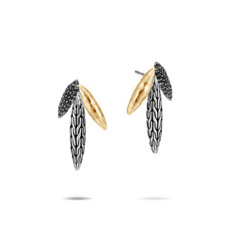 Classic Chain Spear Stud Earring