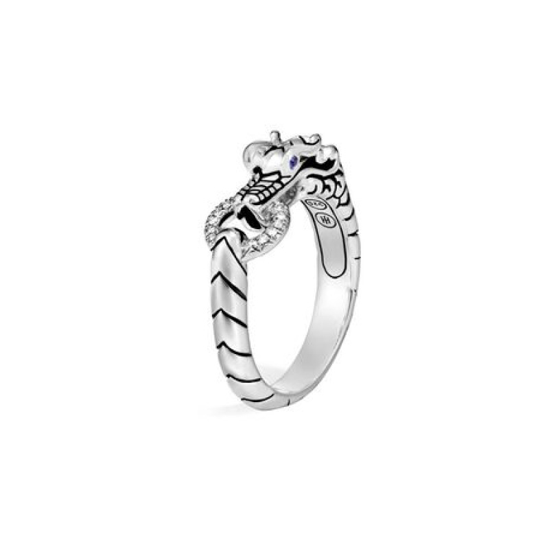Legends Naga Ring with Diamonds