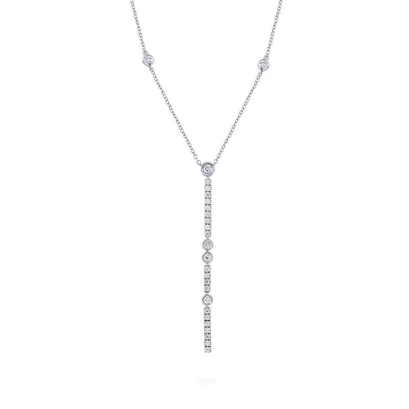 Diamond Drop Necklace | Birks Splash Collection