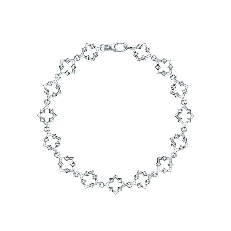 Birks Muse Silver Open Link Bracelet