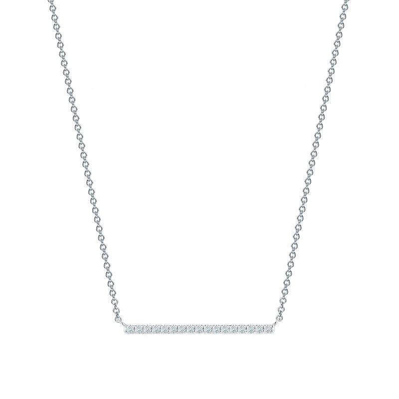 Birks Rosée du Matin|Horizontal Diamond Bar Necklace
