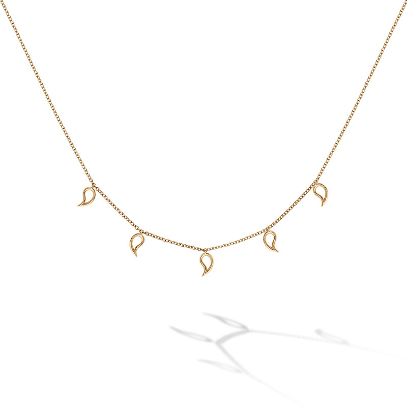 Birks Iconic | Yellow Gold Pétale Choker Necklace
