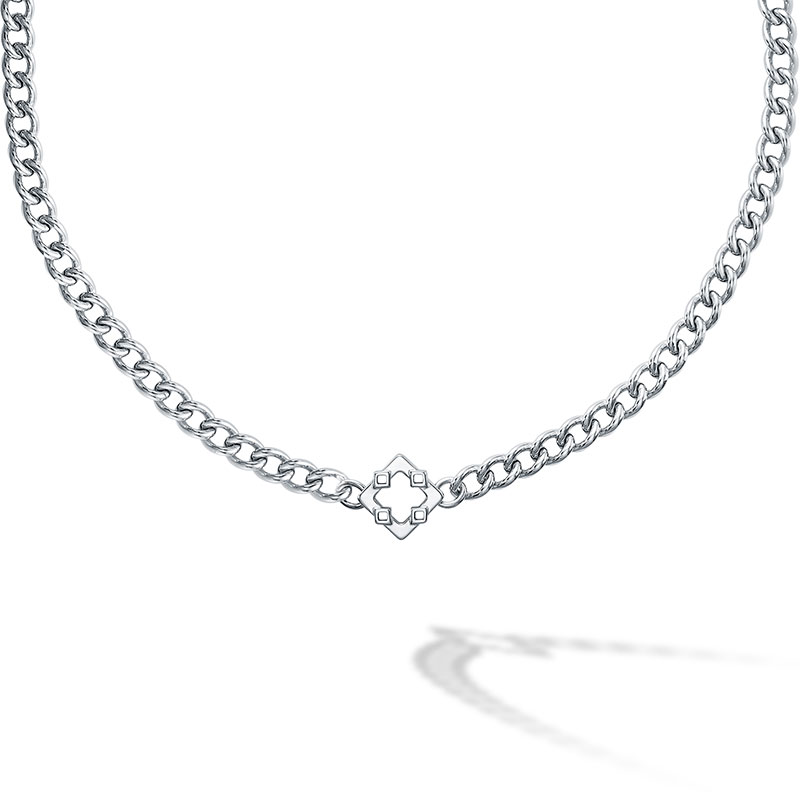 Birks Iconic | Silver Muse Choker Necklace