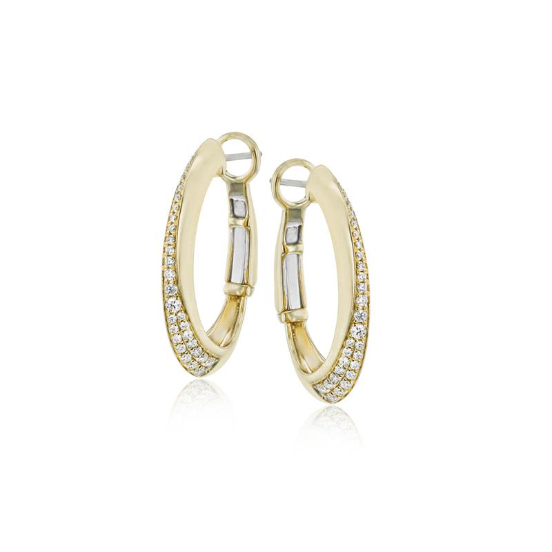 Simon G CLIO Hoop Earrings