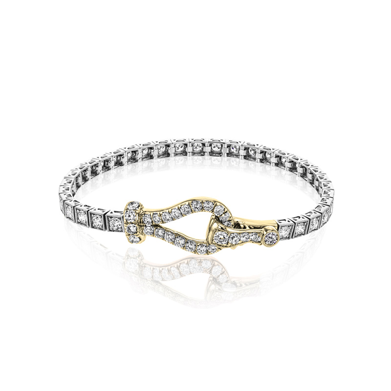 Simon G Diamond Tennis Bracelet