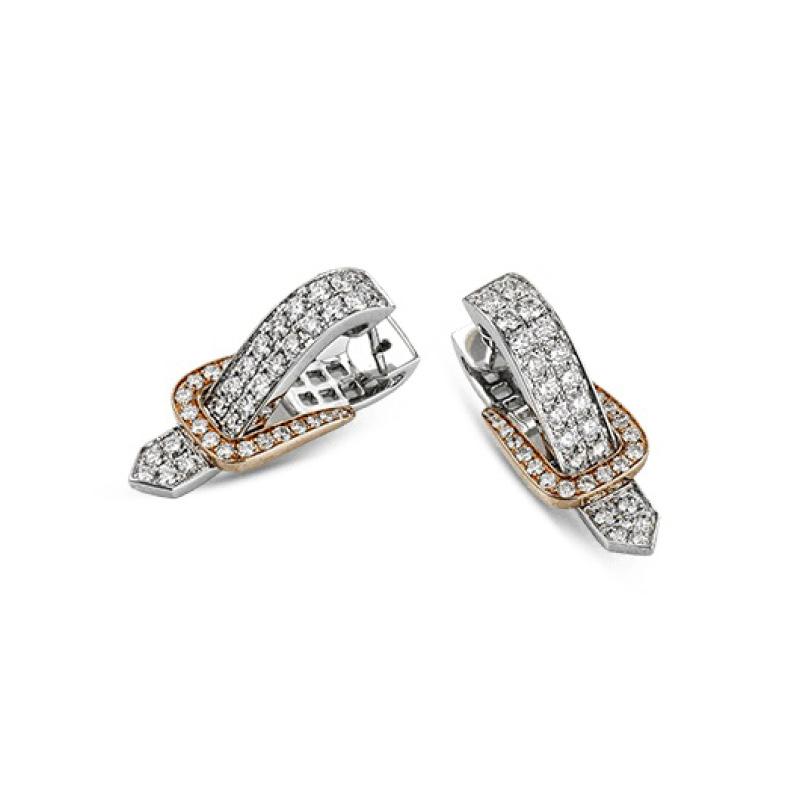 Simon G Buckle Earrings