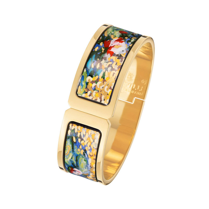 Hommage à Claude Monet Orangerie Regina Clasp Bangle