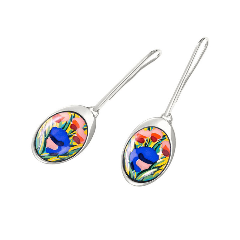 Hommage à Claude Monet Giverny WaterDrop Earrings