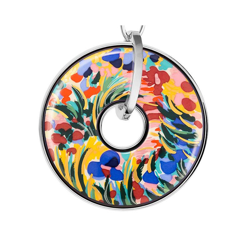 Hommage à Claude Monet Giverny Luna Piena Pendant