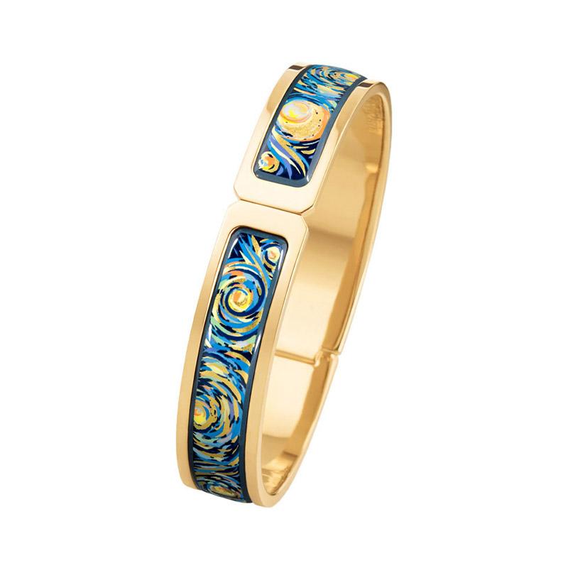 Hommage à Vincent Van Gogh Eternite Narrow Clasp Bracelet