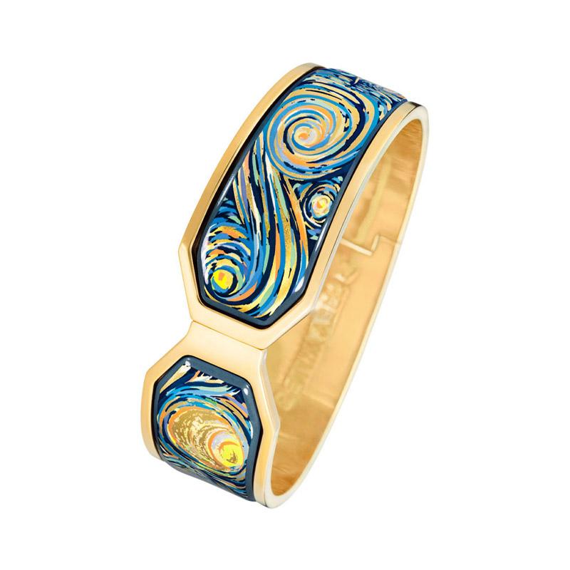 Hommage à Vincent Van Gogh Eternite Contessa Clasp Bracelet