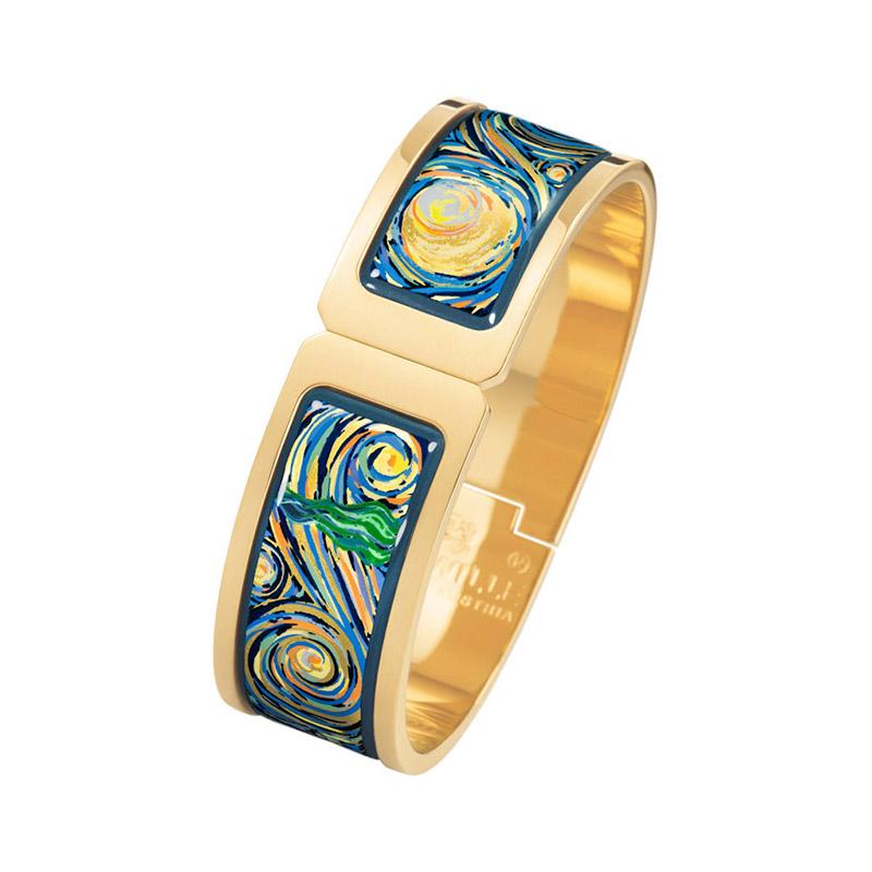 Hommage à Vincent Van Gogh Eternite Regina Clasp Bracelet