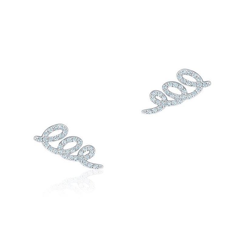 Birks Essentials|Diamond Swirl Earrings