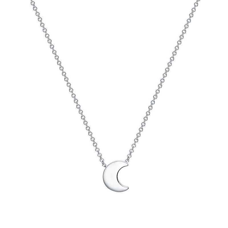 Birks Essentials|Silver Moon Pendant