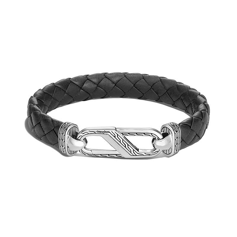 Leather Carabiner Bracelet